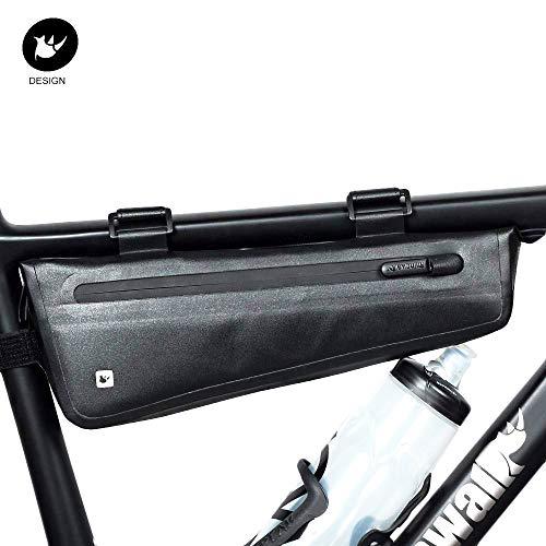 Rhinowalk Bike Bag Bike Frame Bag Waterproof Bike Triangle Bag Bicycle Pouch Under Tube Bag Professional Cycling Accessories(Large)