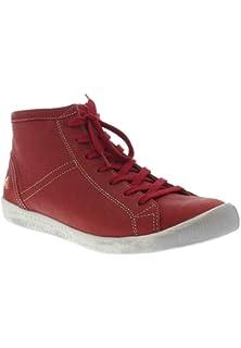 KIP448SOF Washed, Baskets Hautes Femme, Rot (Red), 42 EUSoftinos