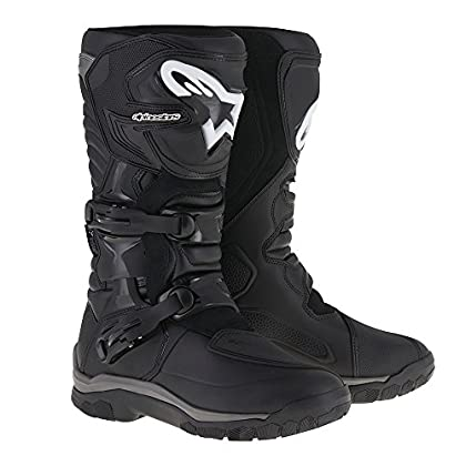 Image of Alpinestars Corozal Adventure Drystar Men's Motorcycle Touring Boots (Black, US Size 12) Boots