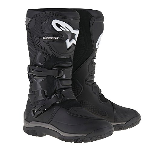 Alpinestars Corozal Adventure Drystar Men's Motorcycle Touring Boots (Black, US Size 12)