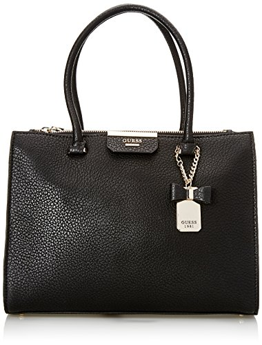 Handbags Women Guess (GUESS Ryann Society Carryall Bla, Black)