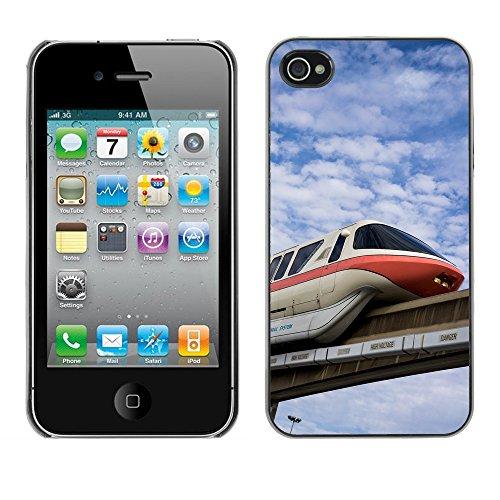Premio Sottile Slim Cassa Custodia Case Cover Shell // F00010103 entrainer // Apple iPhone 4 4S 4G