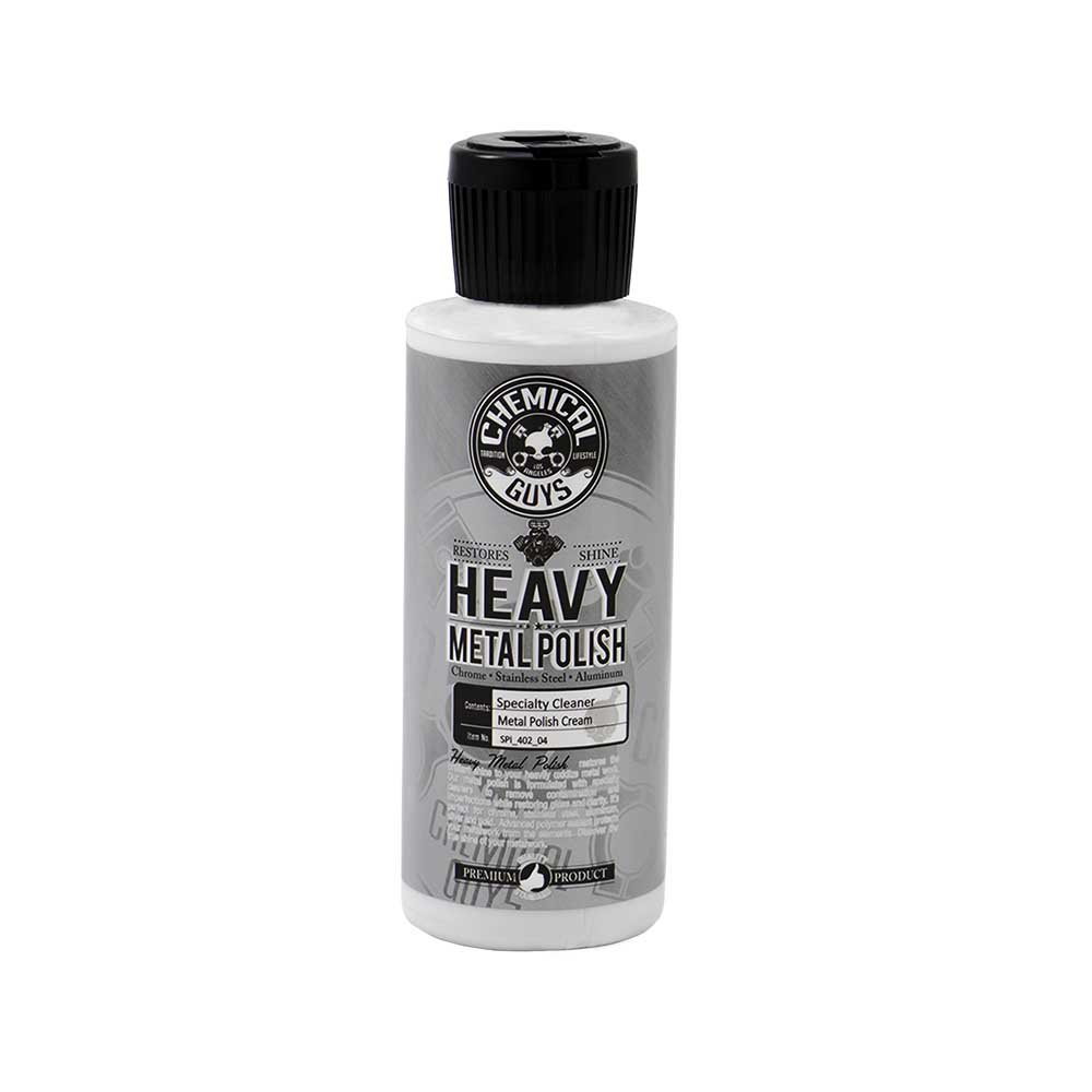 Chemical Guys SPI_402_16 - Heavy Metal Polish Restorer and Protectant (16 oz)