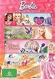 Barbie and Diamond Castle / Barbie Rapunzel / Barbia Island Princess / Barbie Three Musketeers DVD