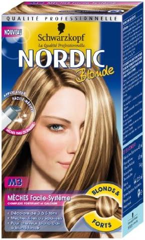 Schwarzkopf Nordic Blonde – Coloración permanente – Mechas ...