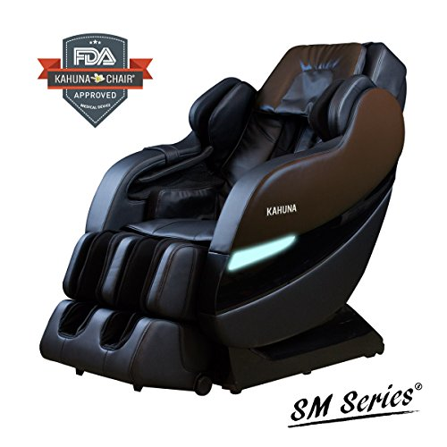 Top Performance Kahuna Superior Massage Chair with SL-Track 6 Rollers - SM-7300 (Dark Brown/Black)