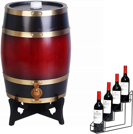 NACK Oak Aging Barrel 10L Dispensador Vertical de Barril de ...