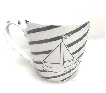 400 Mug Mer Voyage Gris Ml Du Baltique Nord Bateau Blanc L534qSARcj
