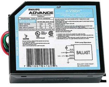 Philips Advance IMH70-GLF 70 Watt 1 Lamp HID Ballast
