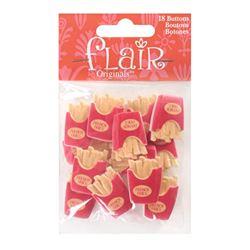 Blumenthal Lansing Company 55000FL98 French Fries Buttons 18 - Mcdonalds Fries