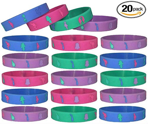 20 pc Harry Potter Silicon Wristbands//Kids Party Favors Adult, Harry Potter 4