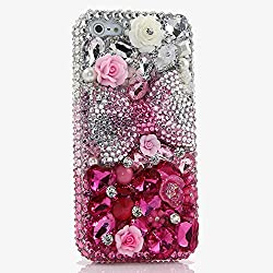 Genuine Crystals Protective iPhone Xs Case Cover