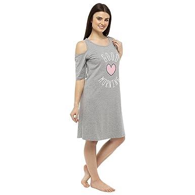 best service d1117 a8b6c Damen Schaf Druck Jersey 100% Baumwolle Nachthemden ...