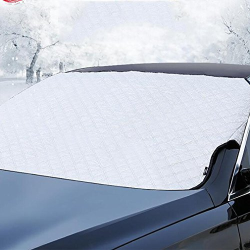 LPY-Car Windscreen Snow Cover Protector Front And Side Windows Mirror Cover Protector, Fits to Most Cars ( 142 x 92cm ) for Any Season by Car windshield