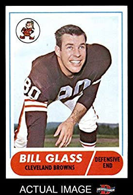 1968 Topps # 154 Bill Glass Cleveland Browns-FB (Football Card) Dean's Cards 5 - EX Browns-FB
