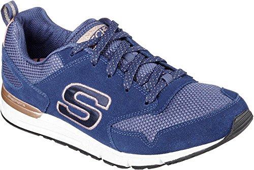 Skechers retros de la mujer OG 92Goldie Sneaker Marino/Dorado
