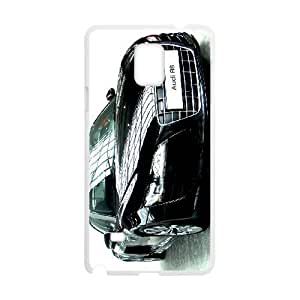 Samsung Galaxy S4 Cell Phone Case White Audi NF9447871