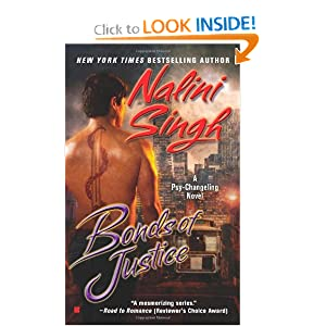 Bonds of Justice (Psy/Changeling Novels) Nalini Singh
