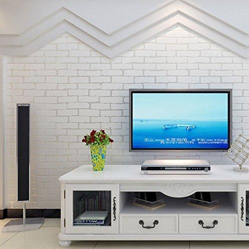 3d-retro-uneven-brick-pattern-brick-texture-wallpaper-fresh-mediterranean-10m-white