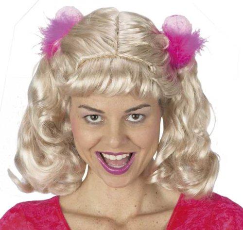 Adult Cheerleader Wig - Ladies Cheerleader Costume Wig