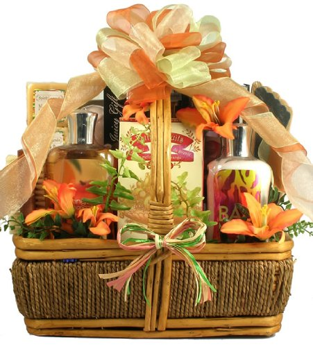 Gift Basket Village The Islander Tropical Spa and Chocolates Gift Basket by Gift Basket Village