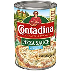 Contadina Pizza Sauce is ready to be the sauce on your perfect pizza! With a zesty tomato flavor and robust consistency, this sauce is great for nearly any style of pizza. A special blend of spices and natural sea salt rounds out this traditi...