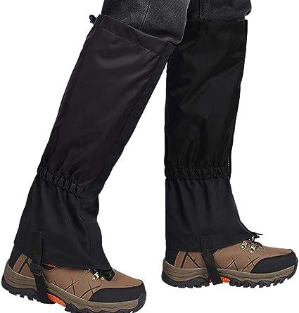 Polainas impermeables para botas de nieve para senderismo ...