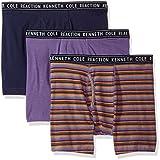 Kenneth Cole Reaction de los hombres Performance algodón stretch 3Pack Boxer Brief