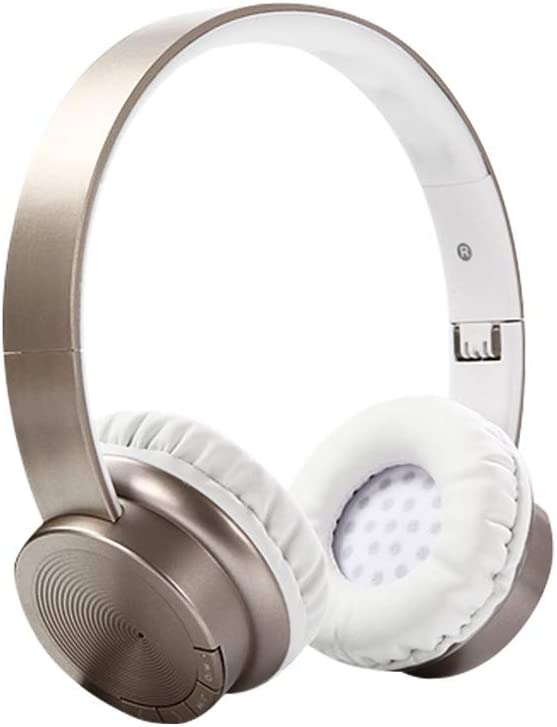 Wireless On-Ear Headphones-Active Noise Cancelling Headphones,Wireless Headphones Bluetooth Comfortable Protein Earpads for TV Cellphone Travel Work