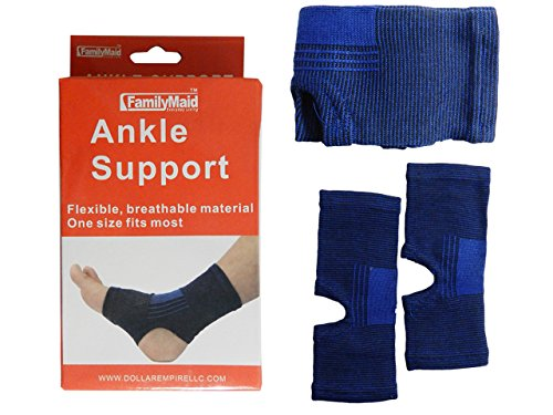 ANKLE SUPPORT 2PC , Case of 96 by DollarItemDirect