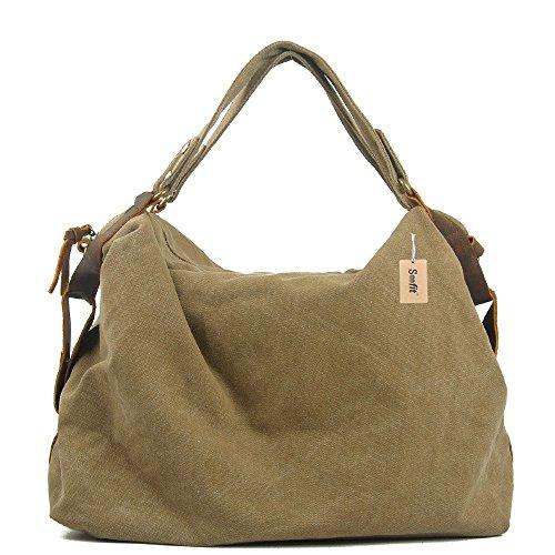 S-Coach Soofit Ostrich Style Womens Leather Handbag Purse Messenger Shoulder Satchel Bag
