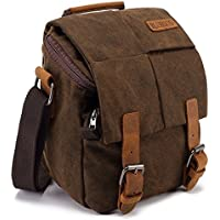 Camera Bag Vintage Canvas Shoulder Shockproof Messenger Bag­ SLR/DSLR