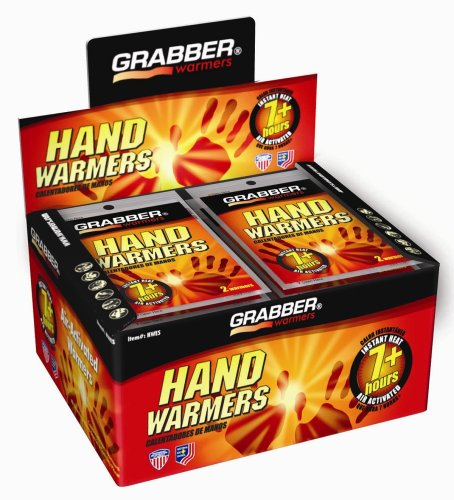 Hour Warm Pack Pocket Warmer (Grabber 7+ Hour Hand Warmers - 40 Pair Box)