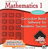 20 Pack Of High Achiever Educational Computer Software Fun and Entertaining for Middle and High School Students Grades 6 7 8 9 10 11 and 12th Grade Math Mathematics Algebra Geometry Trigonometry Study Skills US History Government English Spelling Science