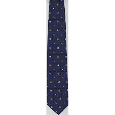 "50"" Youth Neck Tie - Sports Balls - Blue"