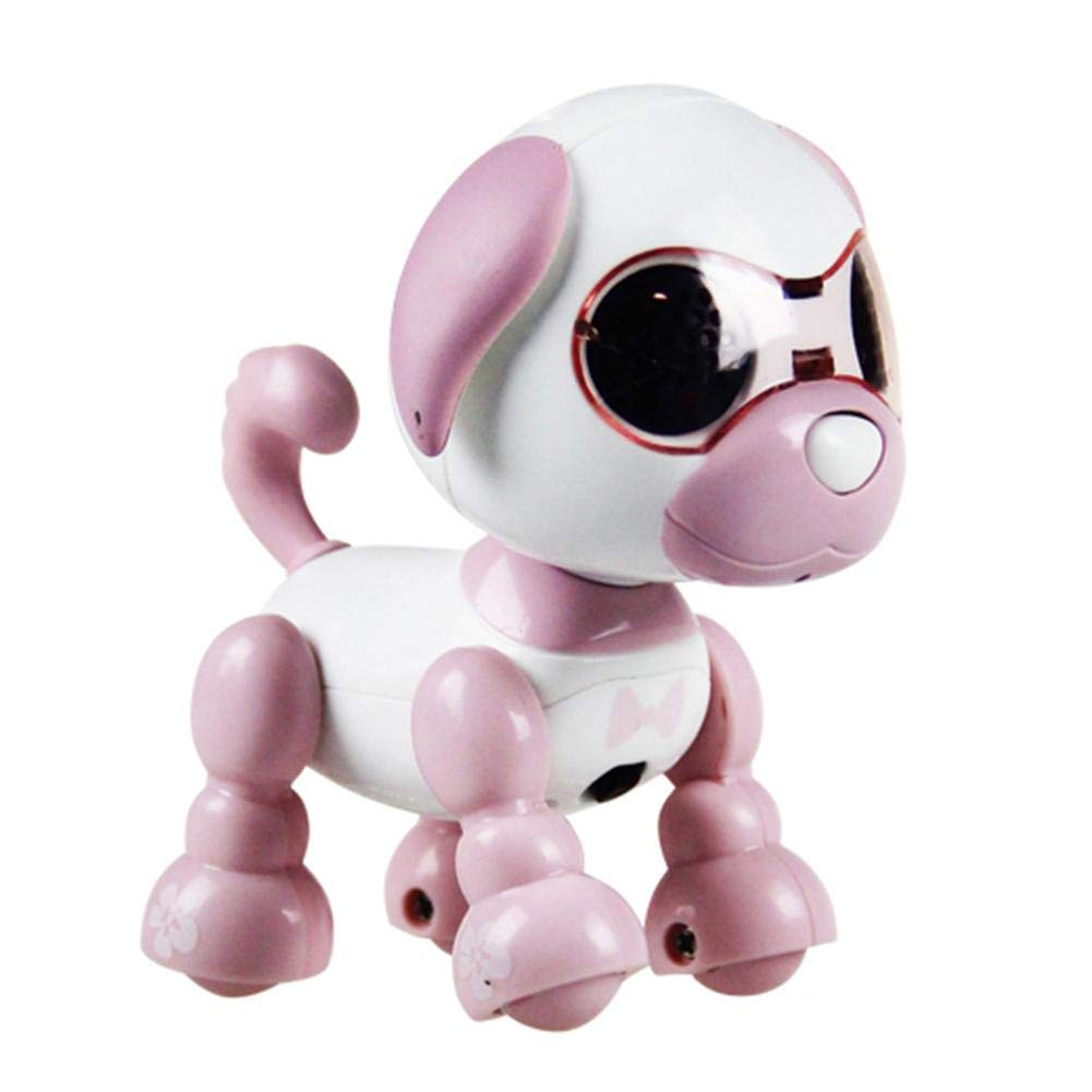 Urnanal Electronic Pet Dog Interactive Puppy - Robot Harry Responds to Touch, Walking, Chasing and Fun Activities.