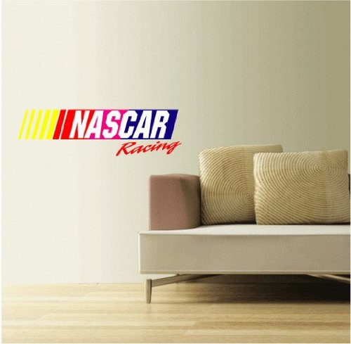 (Nascar Racing Set of 2 Wall Decal Sticker 25