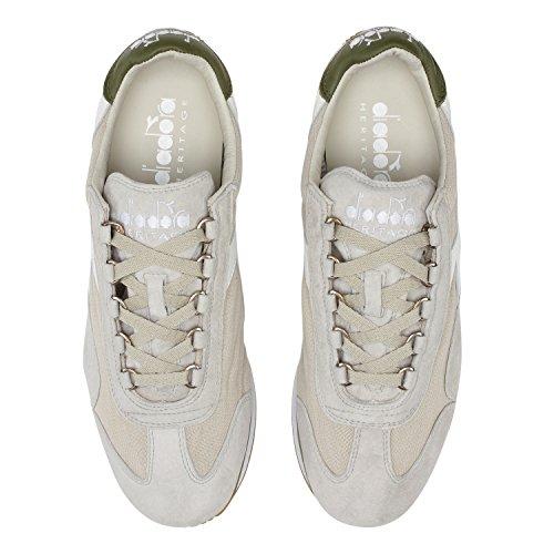 Diadora Heritage Equipe Stone Wash 12c7455 Sneaker Diadora Heritage Beige 46 Hombre