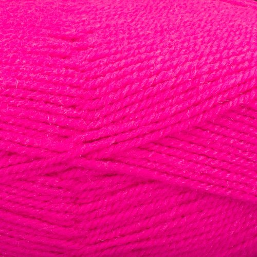 Plymouth (1-Pack) Encore Worsted Yarn Neon Pink 0478-1P (Encore Worsted)