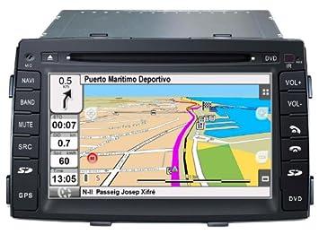 """2DIN 7"""" KIA SORENTO 2010-2012: NAVEGADOR GPS, MANOS LIBRES BLUETOOTH,"""