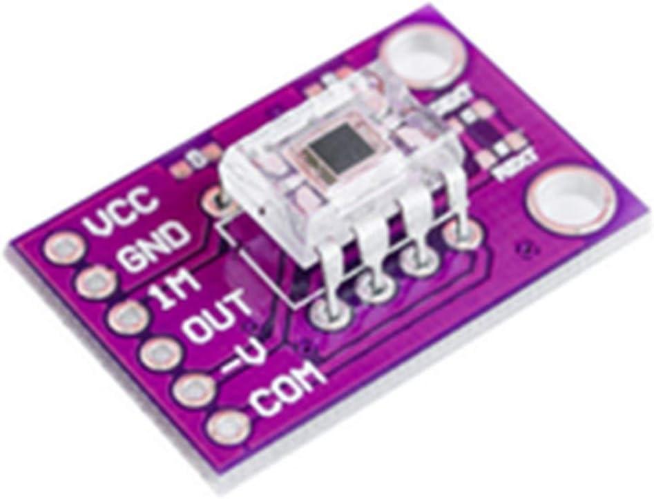 OPT101 Analog Lichtsensor Lichtintensit/ät Modul Monolithic Fotodiode Purple