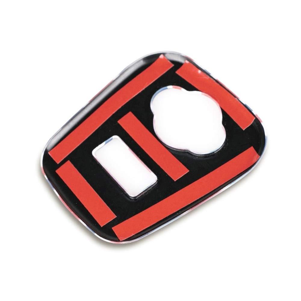 QIDIAN para Mini Cooper F56 F55 Accesorios salpicadero Coche Encendedor Panel Dash Cover calcoman/ía para Mini Cooper F55 Accesorios para Mini F56