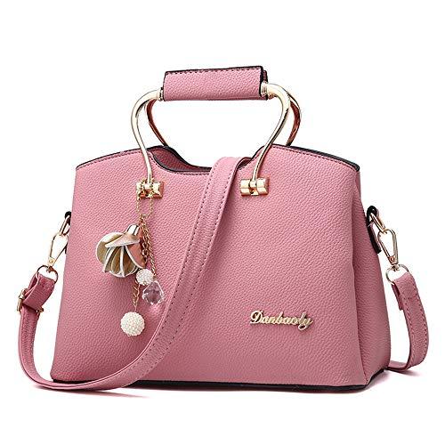 a donne tracolla delle grigio multifunzionale borsa della spalla cuoio multifunzionale tracolla delle donne Borsa delle borse Borsa delle rosa di di donne Mccs borsa a Oq7SxU