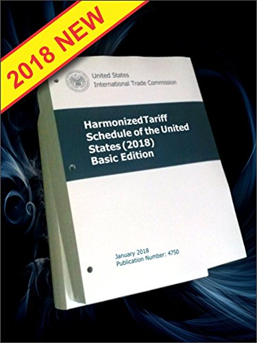Harmonized Tariff Schedule of United States 2018