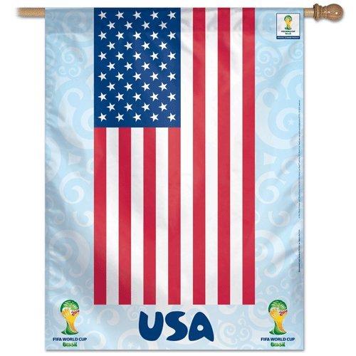 FIFA World Cup Team USA Banner Flag
