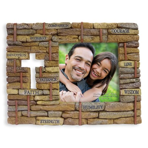 Enesco Legacy of Love Frame Cornerstones Photo Frame, 6.29 inch by Department 56