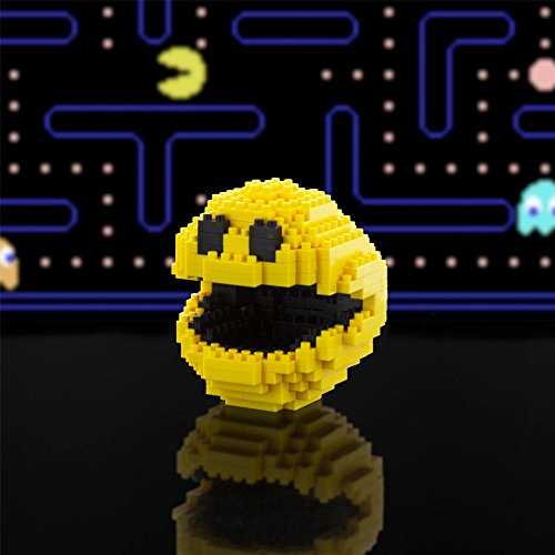 Paladone Pacman Pixel Bricks, 6 cm Tall, 289 Pieces - http://coolthings.us