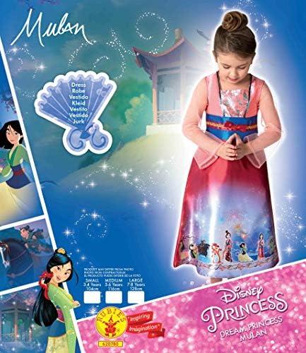 Rubies costume ufficiale da principessa Disney Mulan Dream per bambine