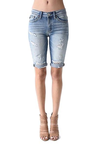 Amazon.com: KanCan Jeans Kevia-Anika KC8370L - Pantalones ...