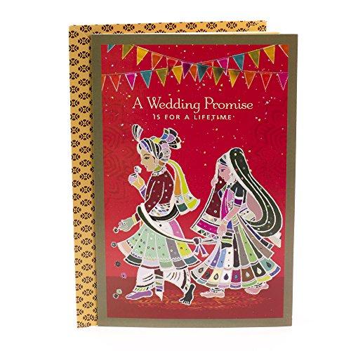 Hallmark Indian Wedding Card (Wedding Promise) (Best Indian Wedding Cards)